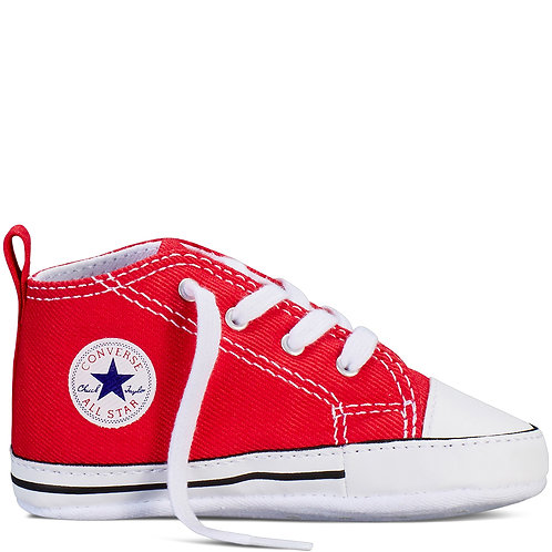 CONVERSE CHUCK TAYLOR FIRST STAR HI - RED