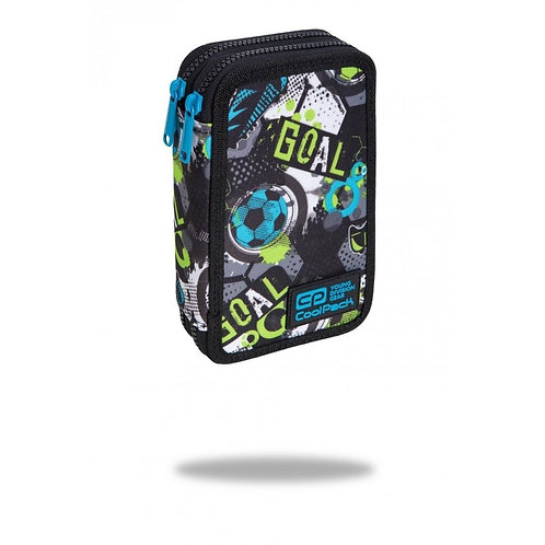COOLPACK - JUMPER 2 - PENCIL CASE - FOOTBALL