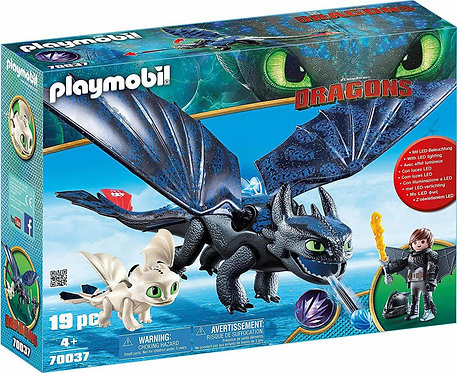 PLAYMOBIL 70037 DRAGONS - Hiccup and Toothless with Baby Dragon