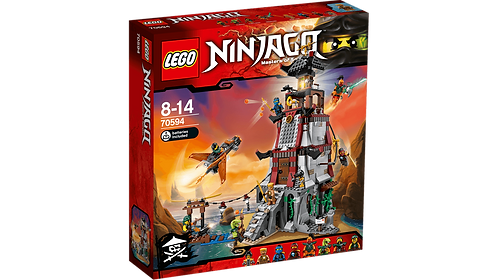 LEGO 70594 NINJAGO - The Lighthouse Siege
