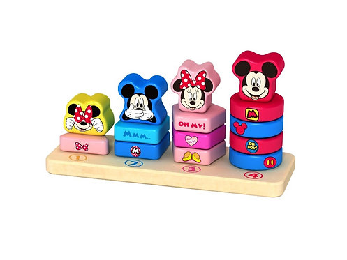 DISNEY BABY - WOODEN COUNTING STACKER