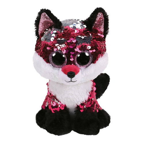 TY SEQUIN FOX 15CM - JEWEL (36270)