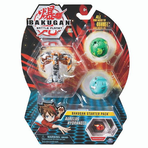 SPIN MASTER BAKUGAN BATTLE PLANET BATTLE BRAWLERS: STARTED PACK (6045144)
