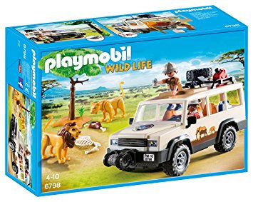 PLAYMOBIL 6798 WILD LIFE - Safari Truck with Lions