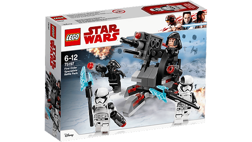 LEGO 75197 STAR WARS - First Order Specialists Battle Pack