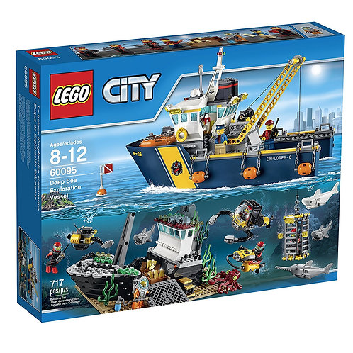LEGO 60095 CITY - Deep Sea Exploration Vessel