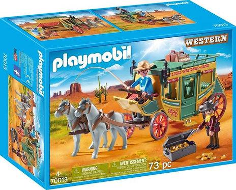 PLAYMOBIL 70013 WESTERN - Western Stagecoach