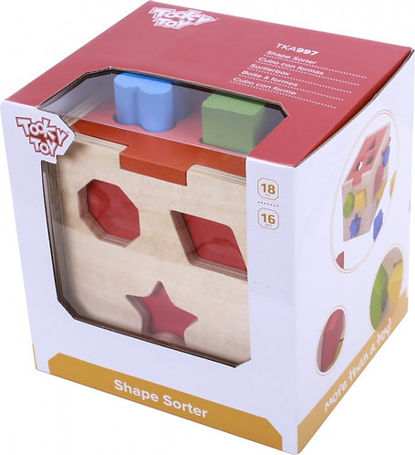 TOOKY TOY - SHAPE SORTER