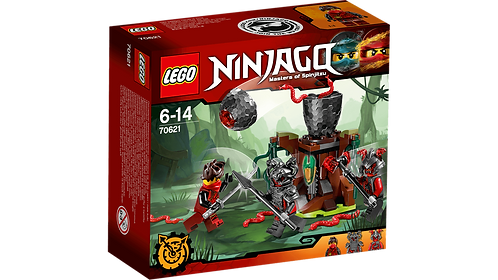 LEGO 70621 NINJAGO - The Vermillion Attack