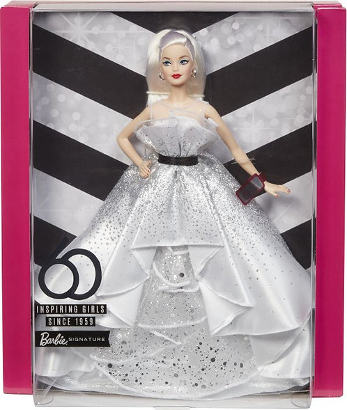 BARBIE 60TH ANNIVERSARY (FXD88)