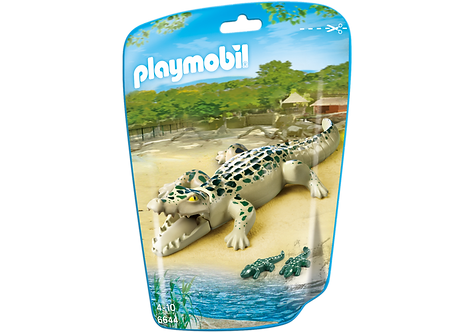 PLAYMOBIL 6644 CITY LIFE - Alligator with Babies