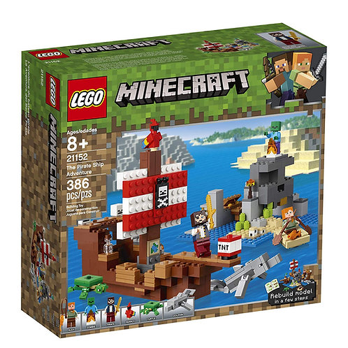 LEGO 21152 MINECRAFT - The Pirate Ship Adventure