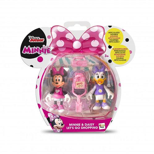 2 Figures Shopping Minnie & Daisy