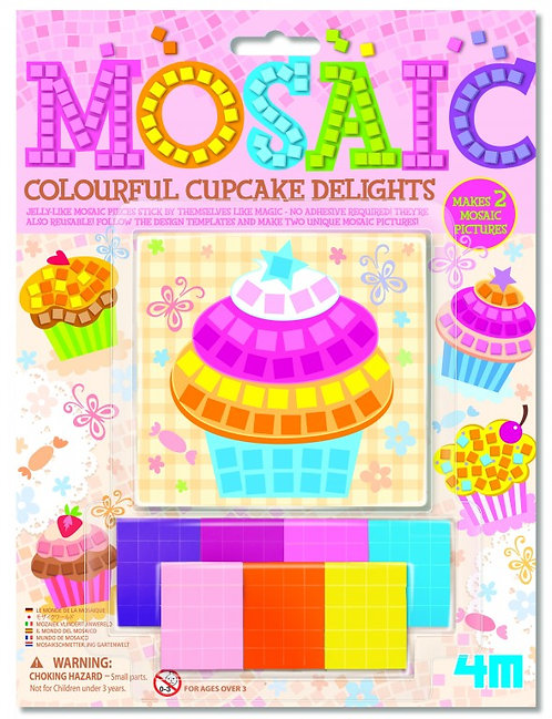Mosaic Colourful Cupcake Delights