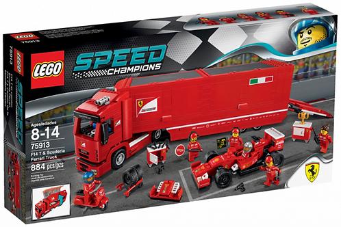 LEGO 75913 SPEED CHAMPIONS - F14 T & Scuderia Ferrari Truck