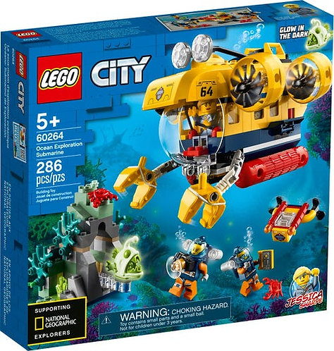 LEGO 60264 CITY - Ocean Exploration Submarine