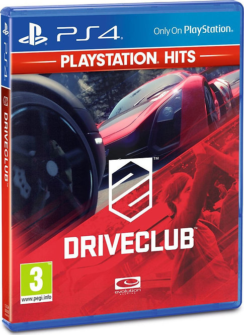 PS4 DRIVECLUB (HITS)