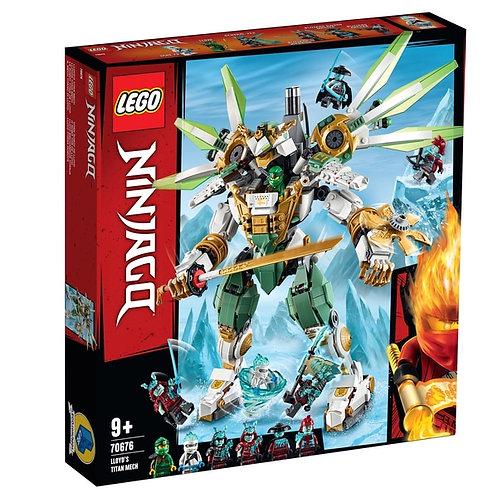 LEGO 70676 NINJAGO - Lloyd's Titan Mech