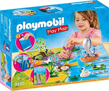 PLAYMOBIL 9330 PLAY MAP - Fairy Garden Play Map