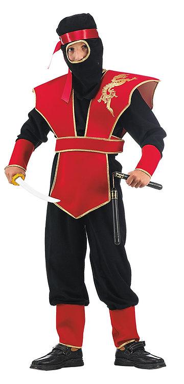 CARNIVAL COSTUME - RED MASTER NINJA