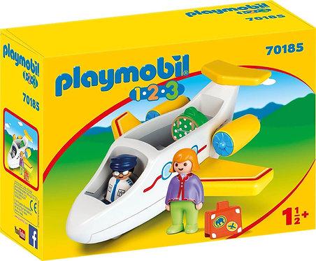 PLAYMOBIL 70185 1.2.3 - Passenger Aircraft