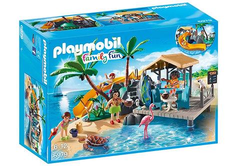 PLAYMOBIL 6979 FAMILY FUN - Beach Bar