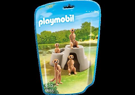 PLAYMOBIL 6655 CITY LIFE - Meerkats