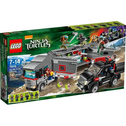 LEGO 79116 NINJA TURTLES - Big Rig Snow Getaway