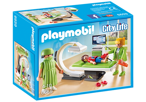 PLAYMOBIL 6659 CITY LIFE - X-Ray Room