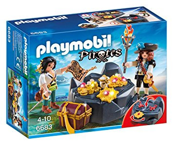 PLAYMOBIL 6683 PIRATES - Treasure Hideout