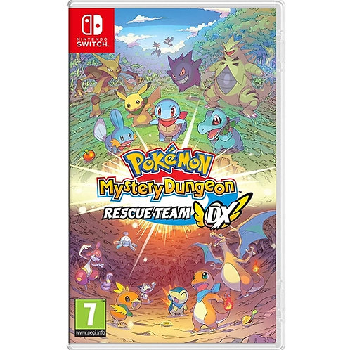 NS POKEMON MYSTERY DUNGEON RESCUE TEAM