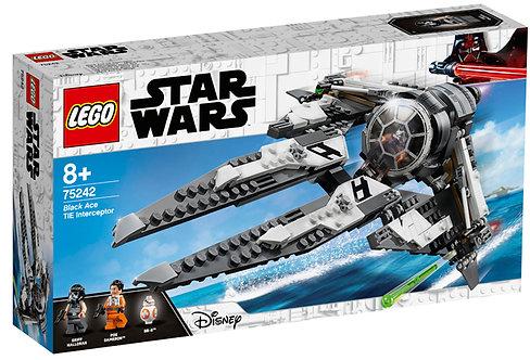 LEGO 75242 STAR WARS - Black Ace TIE Interceptor™