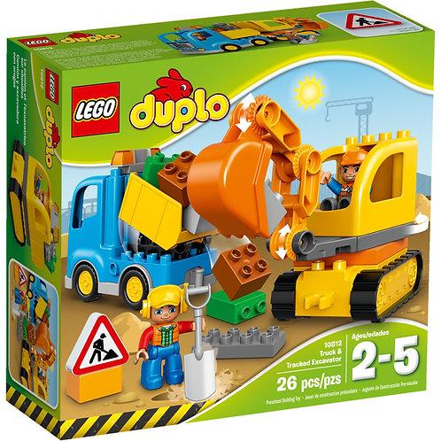 LEGO 10812 DUPLO - Truck & Tracked Excavator