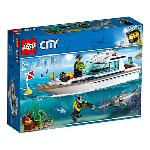 LEGO 60221 CITY - Diving Yacht