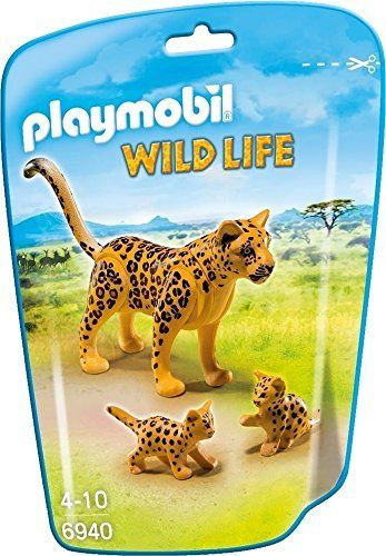 PLAYMOBIL 6940 WILD LIFE - Leopard with Cubs