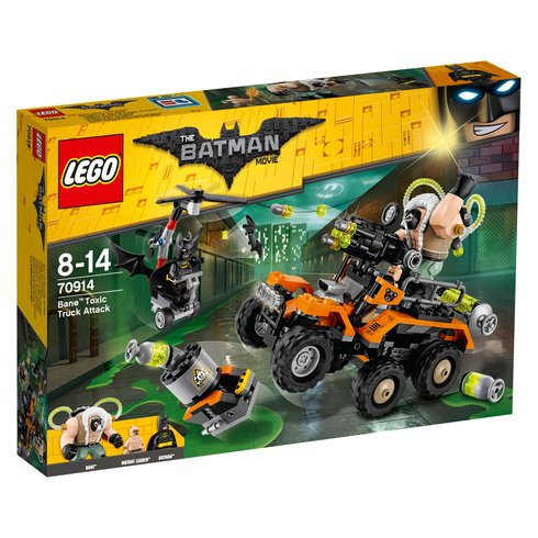 LEGO 70914 BATMAN - Bane Toxic Truck