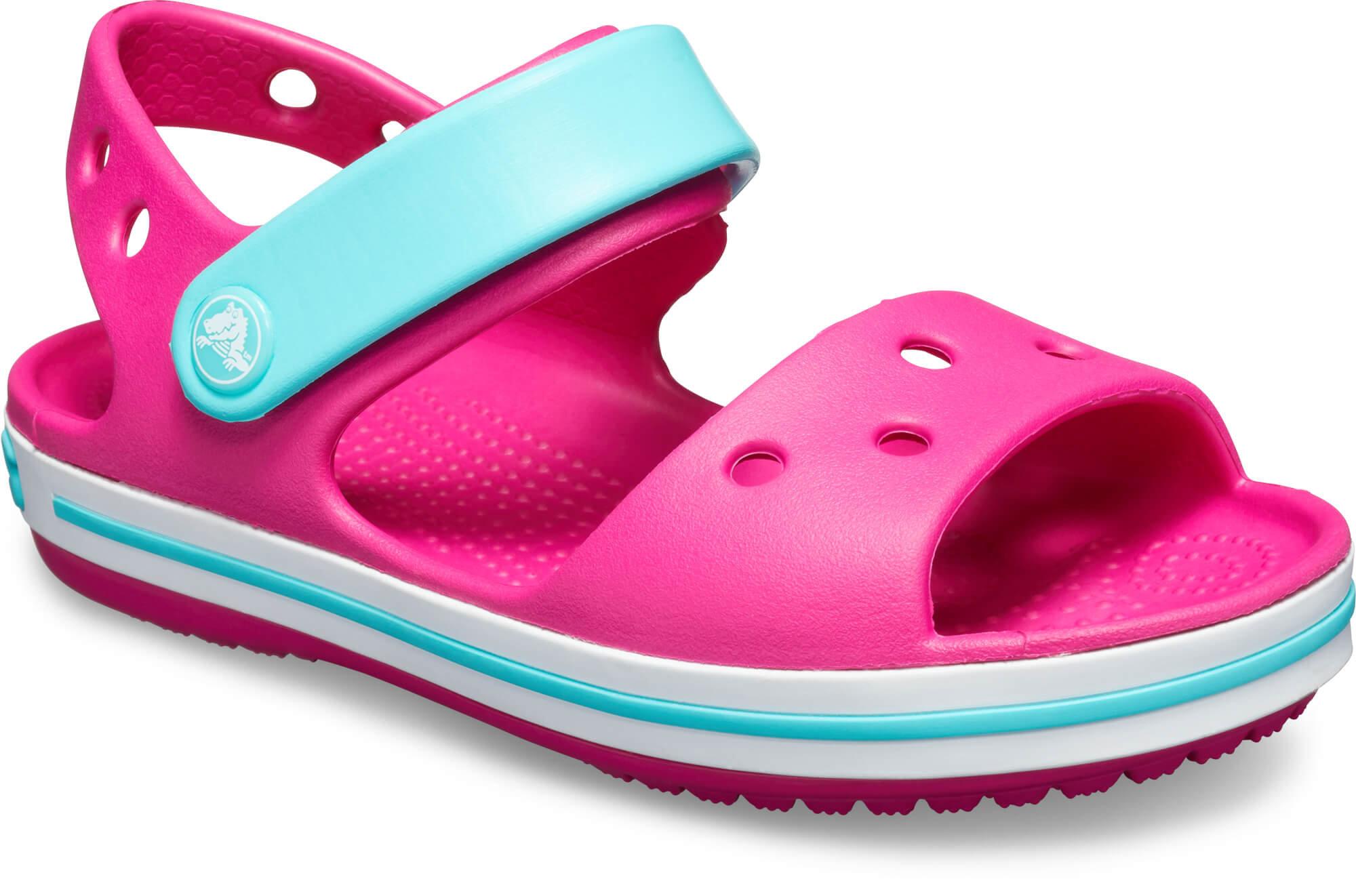 Candy Sandal Crocs Pool Kids Pink Crocband OTkiwXPuZ