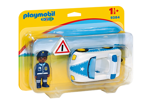 PLAYMOBIL 9384 1.2.3 - Police Car