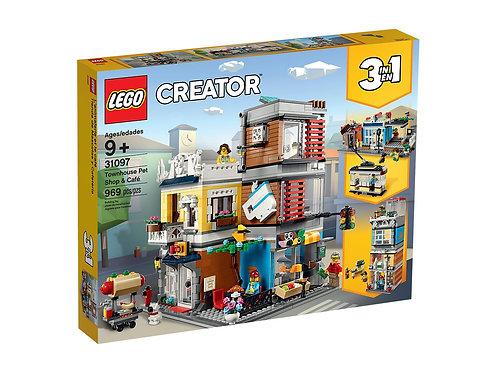 LEGO 31097 CREATOR - Townhouse Pet Shop & Café