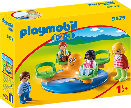 PLAYMOBIL 9379 1.2.3 - Children's Carousel