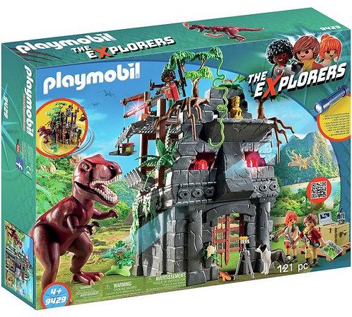 PLAYMOBIL 9429 THE EXPLORERS - Hidden Temple with T-Rex