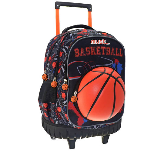 MUST - BASKETBALL TROLLEY BAG 4 CASES