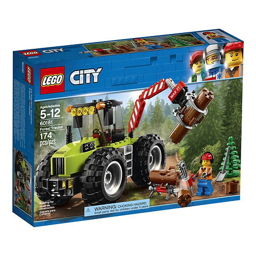 LEGO 60181 CITY - Forest Tractor