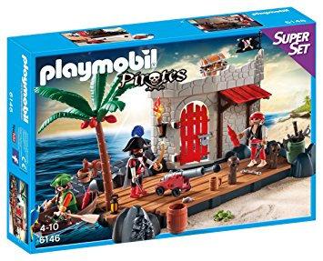 PLAYMOBIL 6146 PIRATES - Fort SuperSet