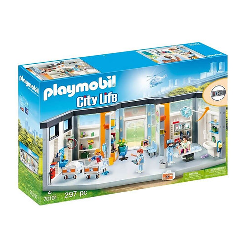 PLAYMOBIL 70191 CITY LIFE - Furnished Hospital Wing