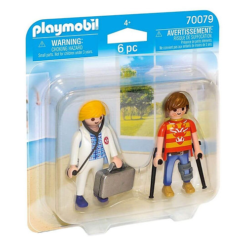 PLAYMOBIL 70079 - Doctor and Patient