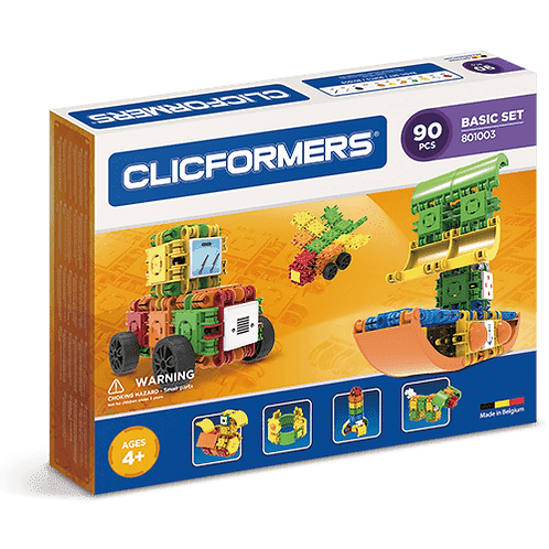 CLICFORMERS BASIC SET - 90 PIECES