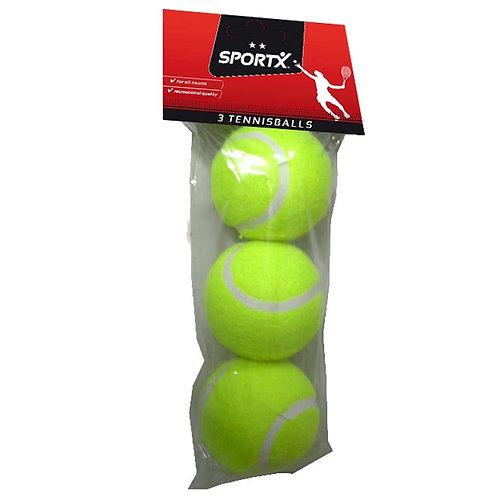 SPORTX TENNIS BALLS 3PACK