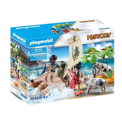 PLAYMOBIL 70468 HISTORY - Ulysses and Circe