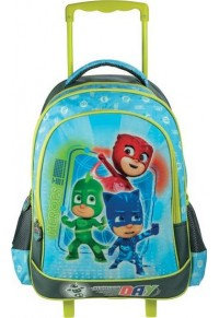 PJ MASKS BAG WITH TROLLEY 32X43X18CM